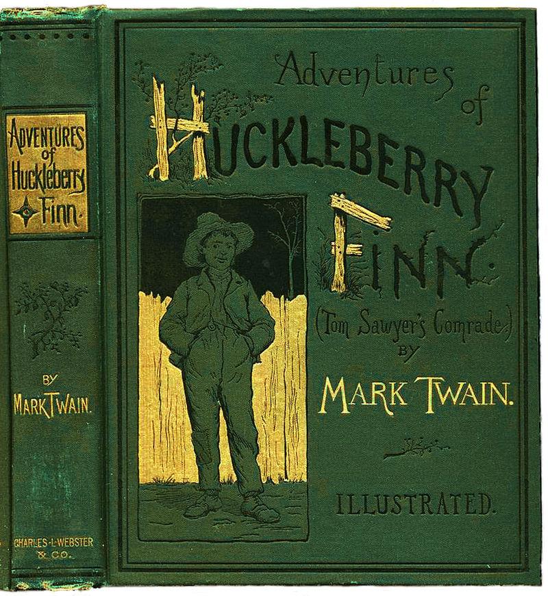 800px-Huckleberry_Finn_book